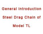 Steel Drag Chain of Model TL